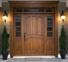 Medžio durys